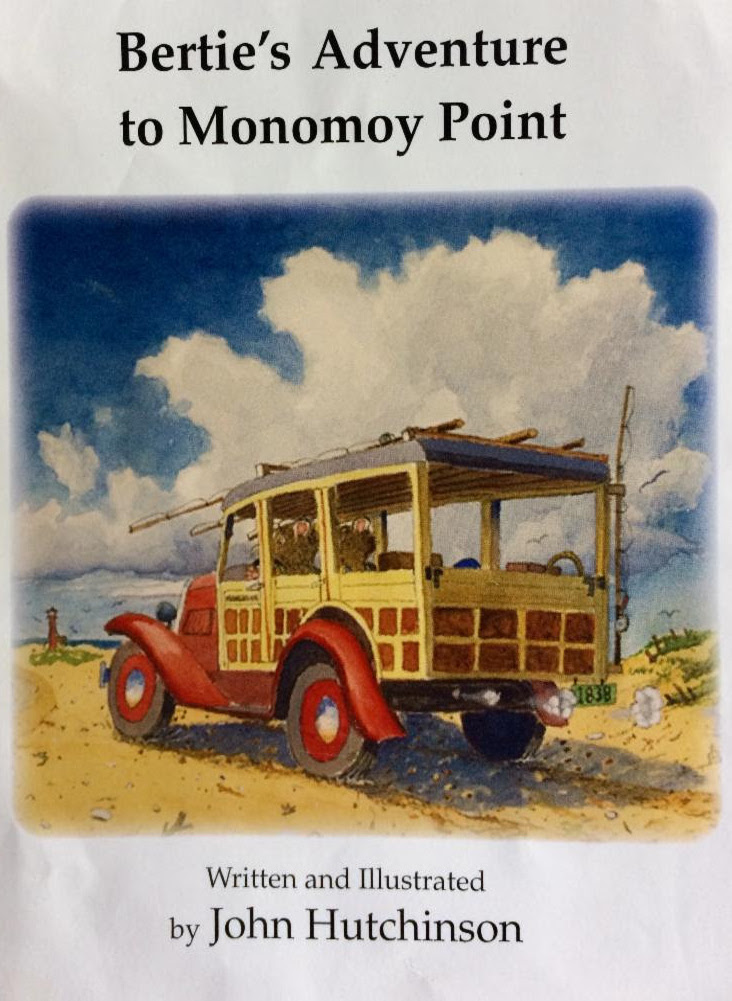 Book cover of Bertie's Adventure to Monomoy Point